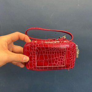 Disney Red Faux Leather Muti-Pocket Wallet